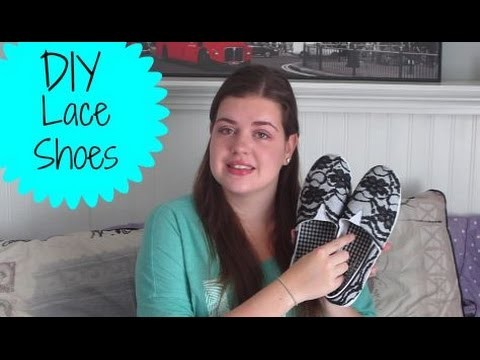 DIY lace shoes |itskim