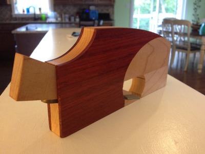 DIY shoulder plane