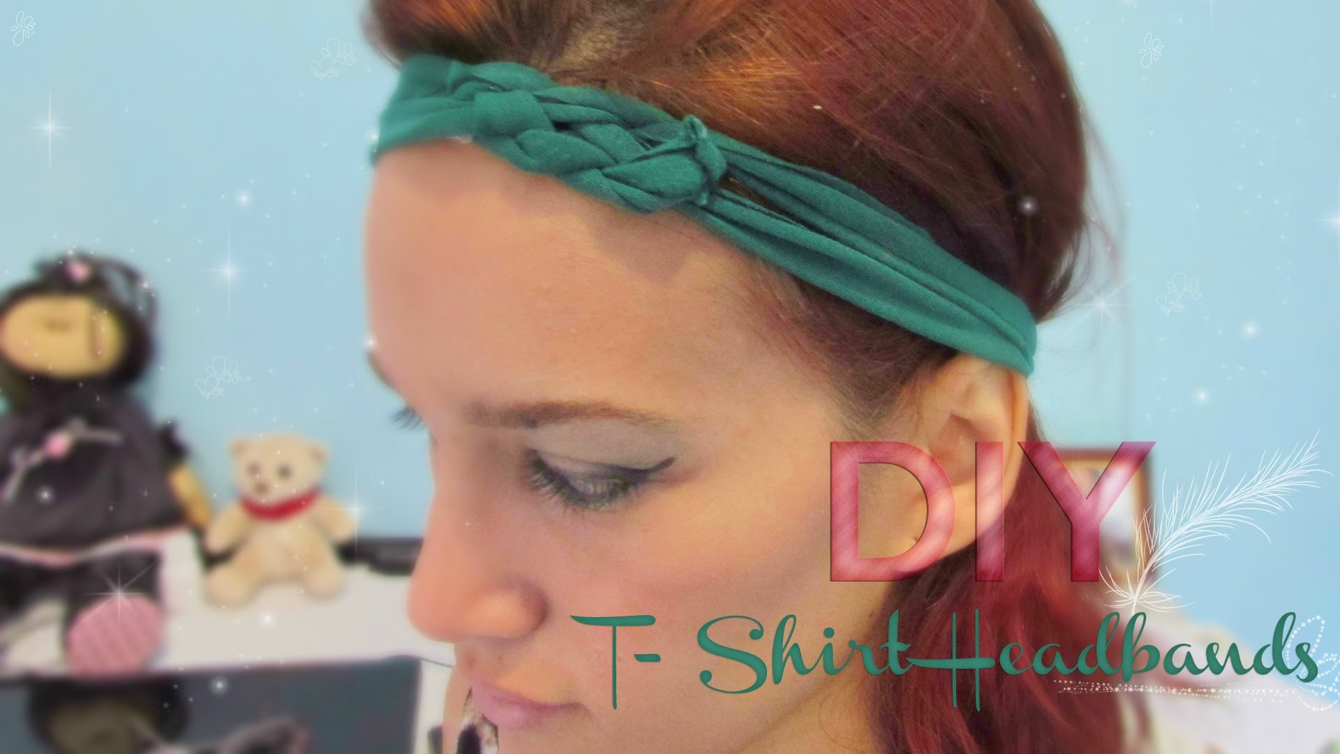 DIY T-Shirt Headband | Stephanie Ferreira