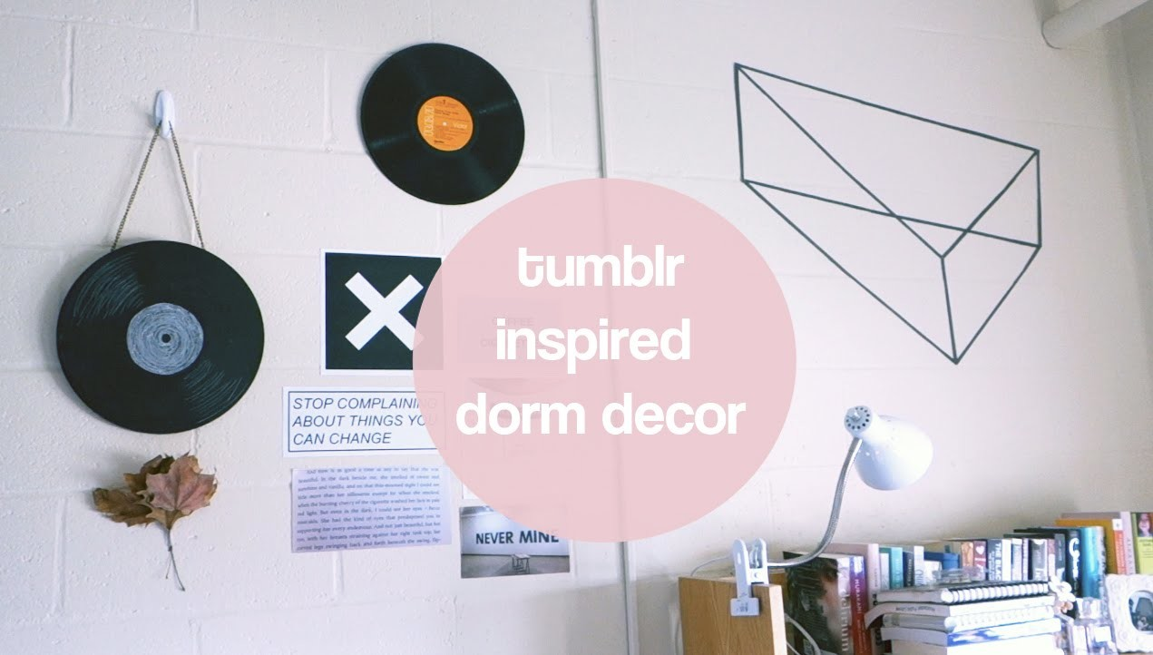 DIY Tumblr Inspired Dorm Room Decor | PSITHURIA