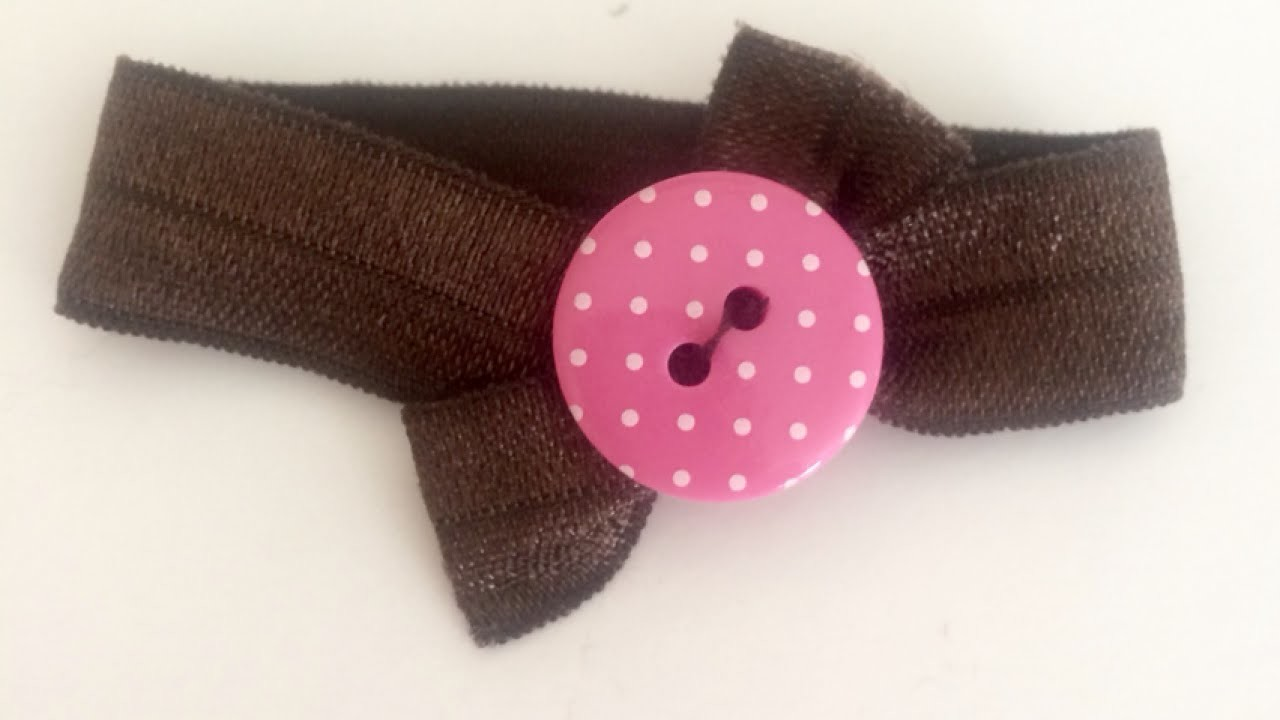 Easily Make A Simple And Cute Hair Tie - DIY  - Guidecentral