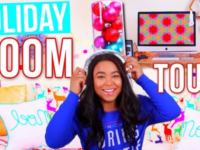 Holiday Room Tour! DIY Tumblr Inspired Holiday Room Decor!