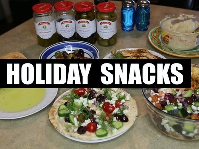 Holiday Snacks & Appetizers | DIY!