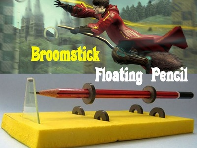 How to Make a Floating Pencil - Easy Tutorials