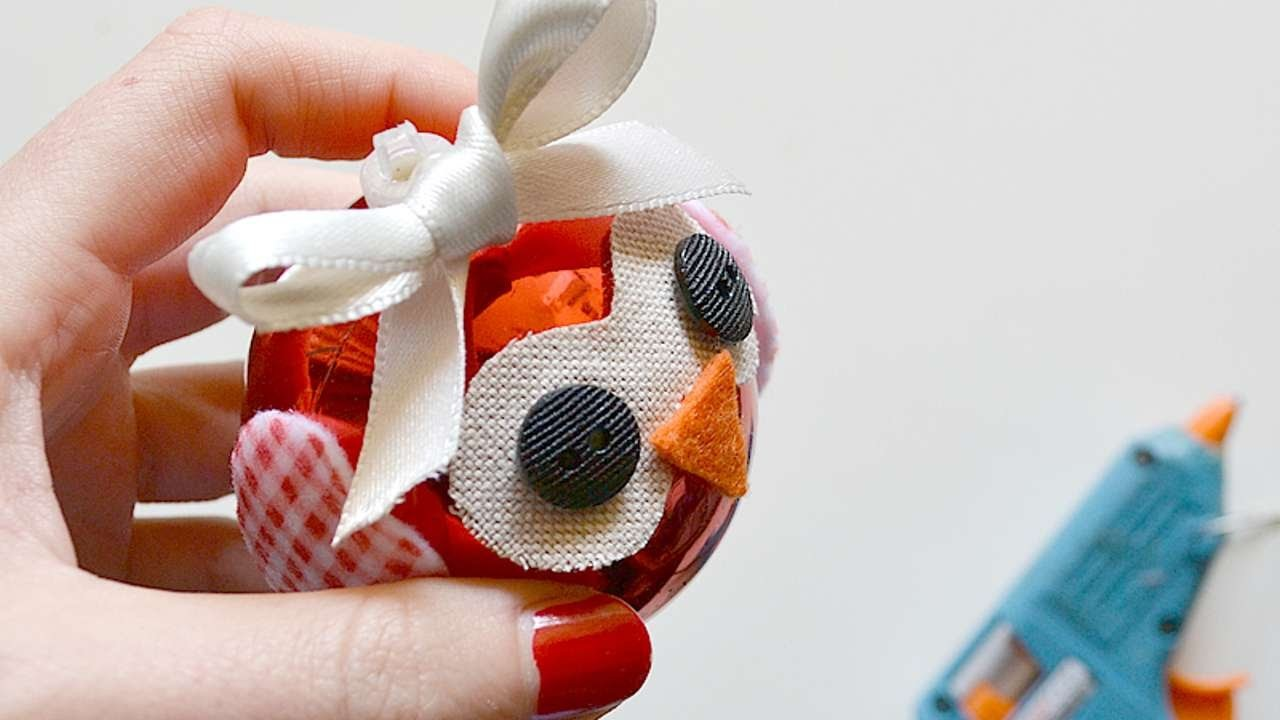 How To Make A Owl Christmas Ball - DIY Home Tutorial - Guidecentral