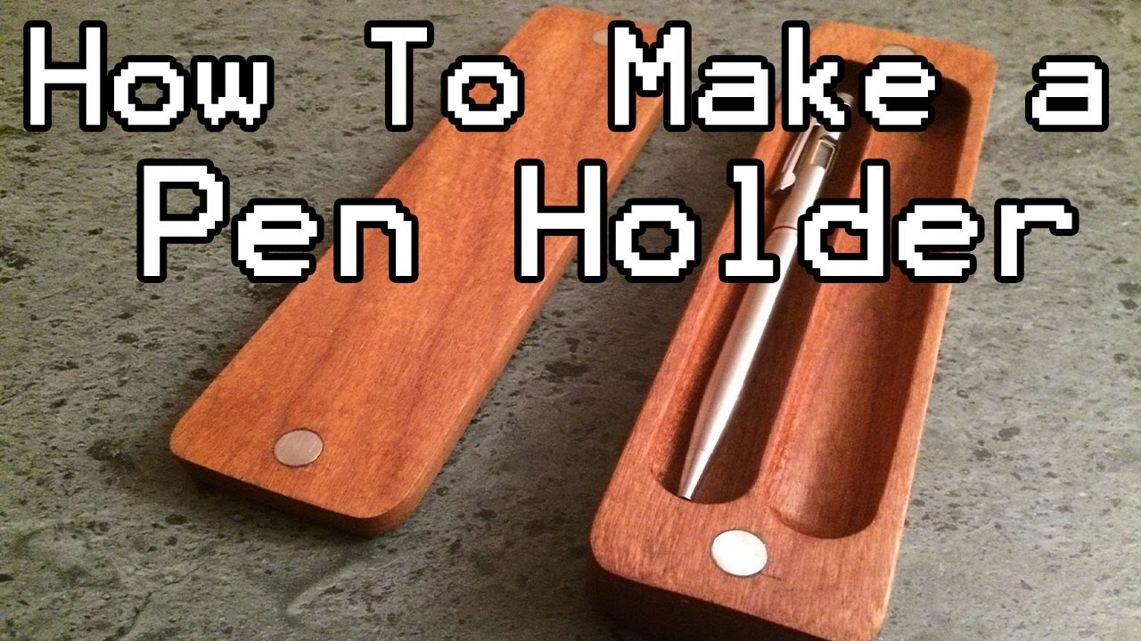 How to Make a Pen Holder (DIY) with Magnets