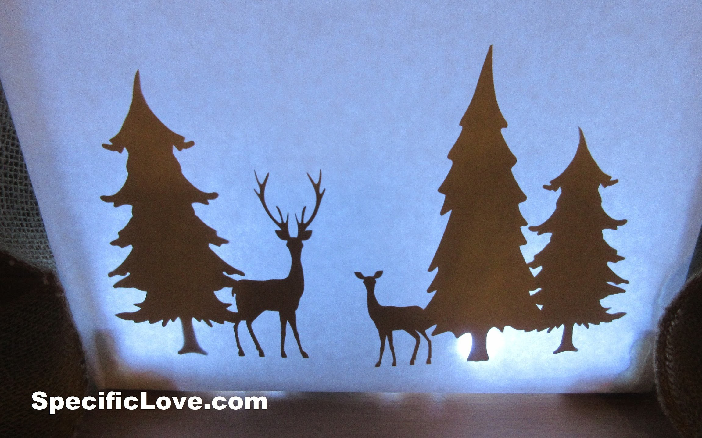 How to make a Shadow Box with PVC - Homemade DIY Christmas Crafts