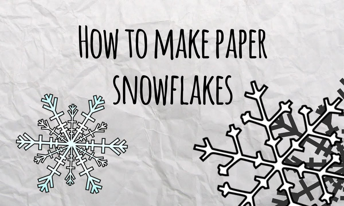 How to Make Paper Snowflakes - Master of DIY - Creative Ideas For Home