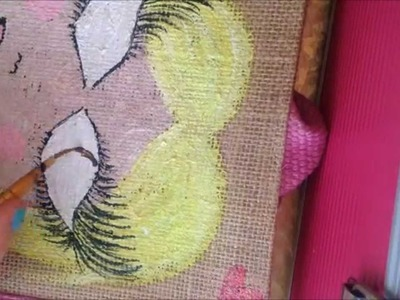 ♥♥ How To : Personalized Jute Bag ♥♥