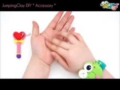 Jumping Clay Tutorial - How to make a Magic Stick and Necklace