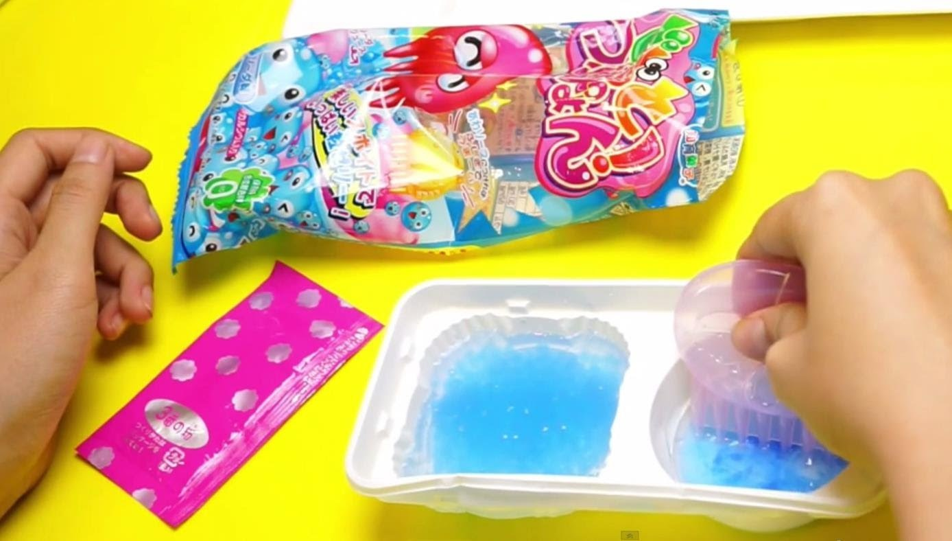 Kracie Octopus Poop Candy - Japanese DIY Candy Kit