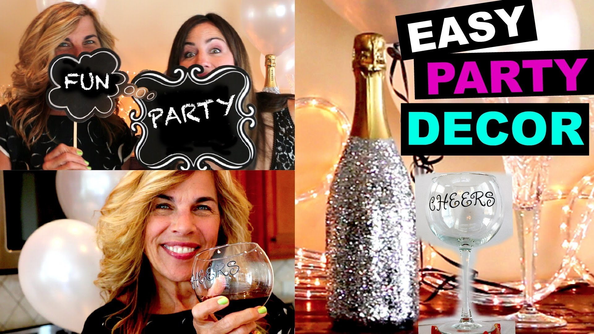LAST MINUTE Party Decor ♡ DIY Ideas