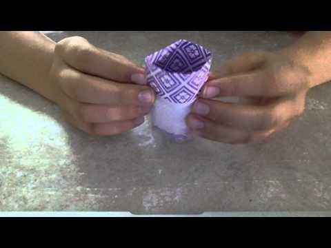 Origami goblet