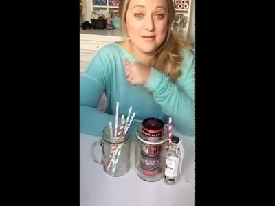 Periscope: DIY Mason Jar Cocktail Mug Gifts!