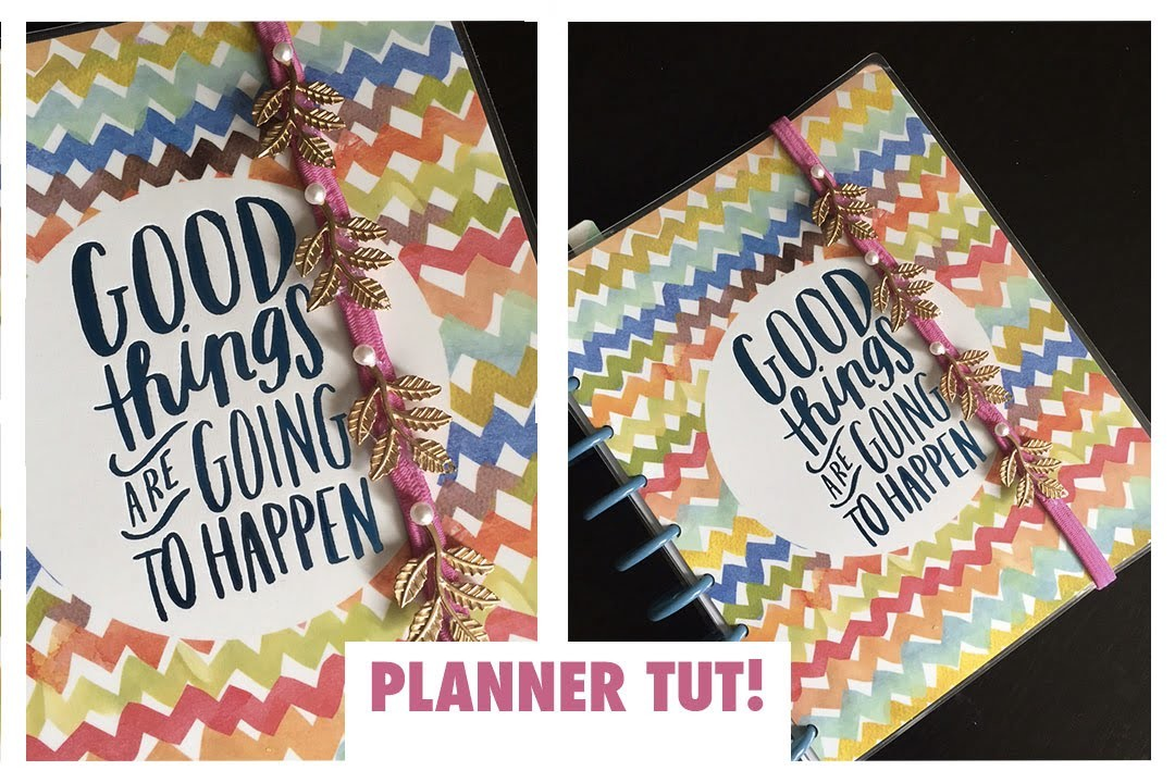 Planner Tutorial- DIY Planner Holder