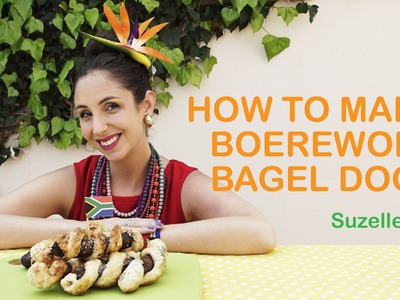 SuzelleDIY - How to Make Boerewors Bagel Dogs