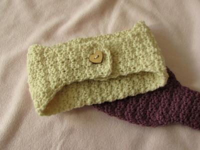 VERY EASY textured crochet headband tutorial - any size
