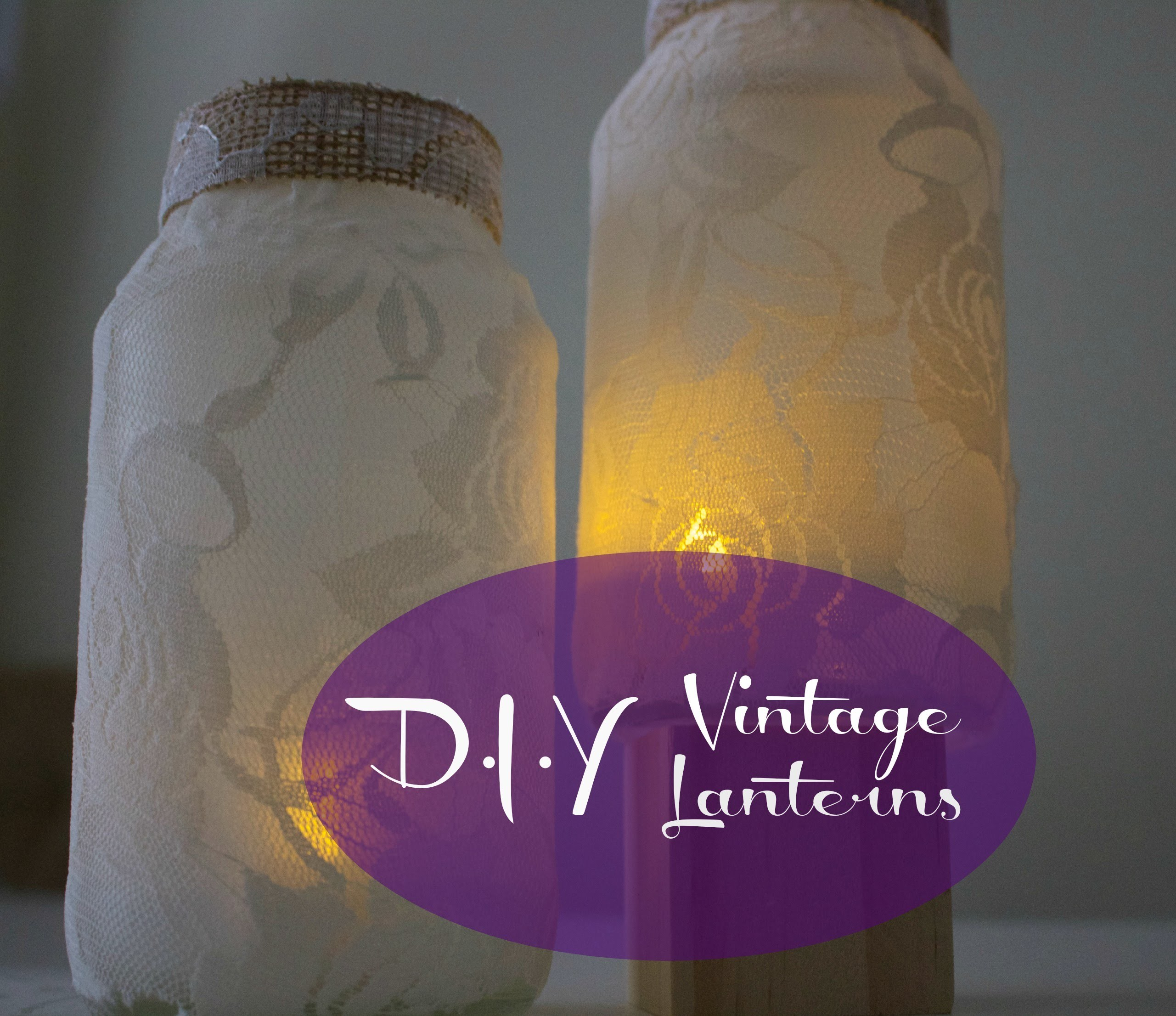 Vintage Inspired Lanterns | DIY | Creative Fun TV