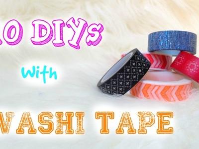 10 DIY avec du Washi Tape - Partenariat avec PimPomPerles.fr