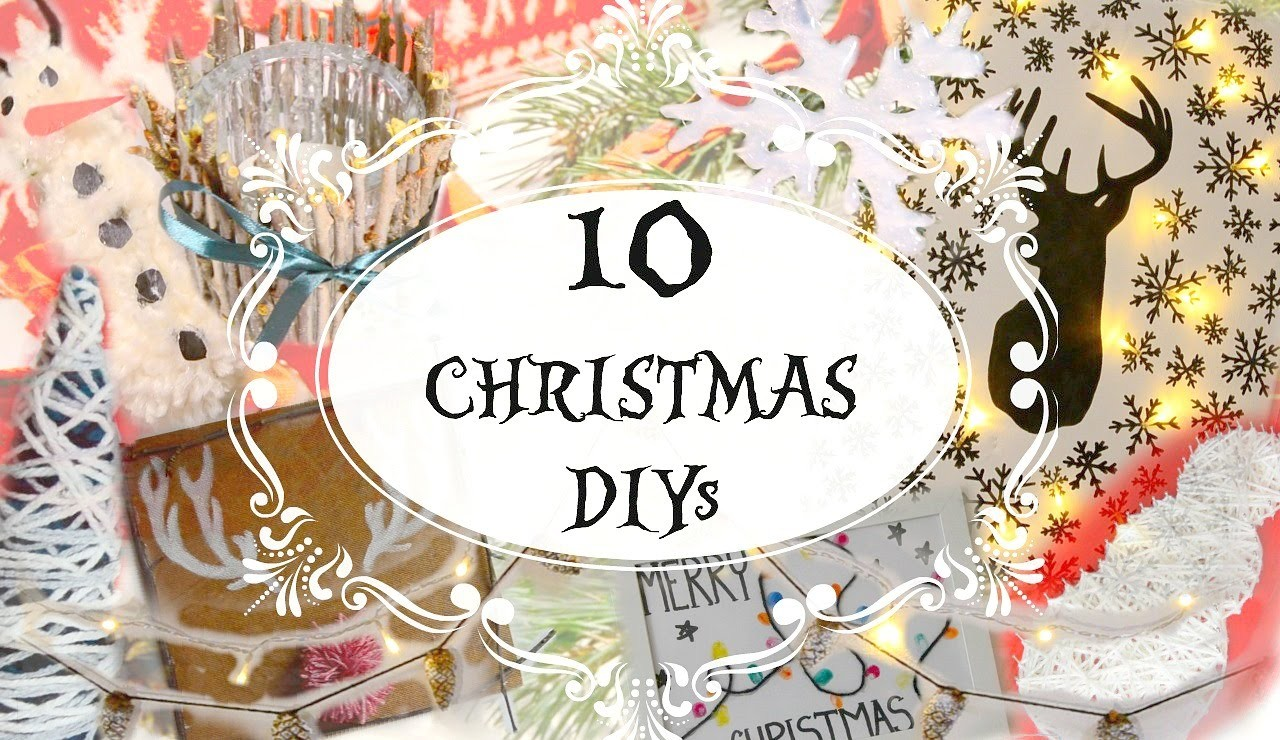 10 Diy Holiday Room Decor Ideas || Make Your Room Cozy