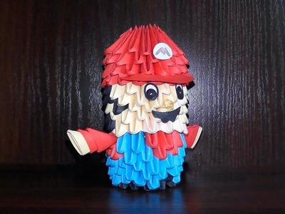 3D origami Mario tutorial