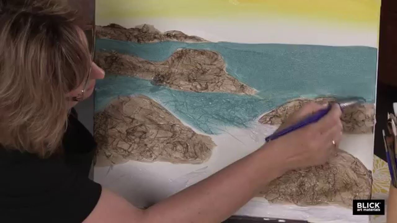 Blick Social Painting - Seascape