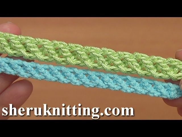 Crocheted Romanian Point Cord Tutorial 97