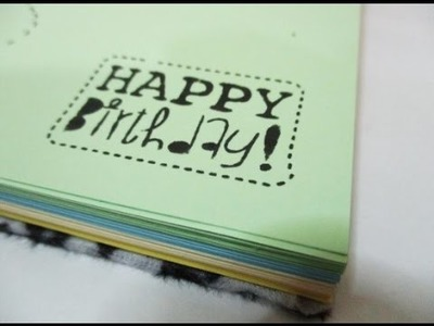 DIY : #118 Birthday Gift Notebook ♥