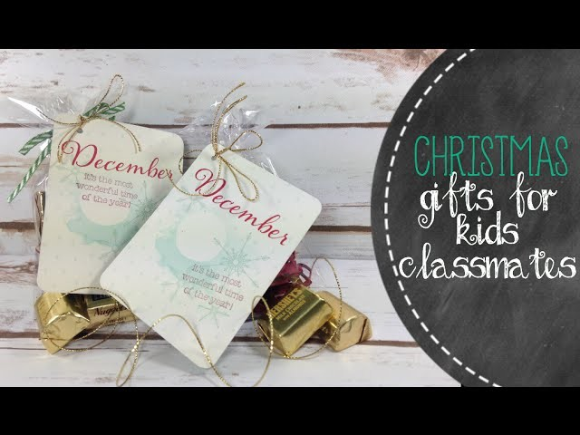 DIY Christmas Tags with Project Life Cards!