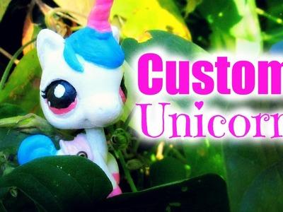 DIY: LPS Custom: Unicorn