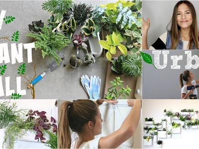 DIY Plant Wall || Urbio