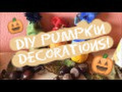 DIY Pumpkin Decorations!