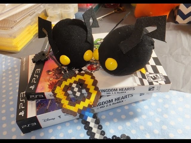"DIY: Shadow Heartless ""Tsum Tsum"" Style Plush ~ Kingdom Hearts"
