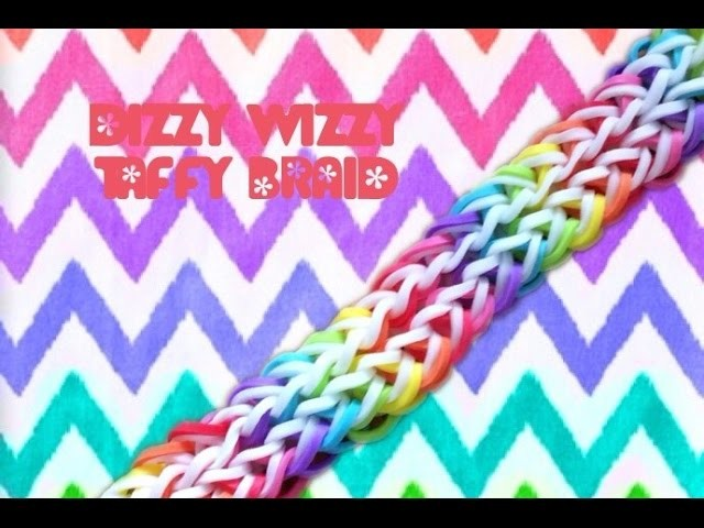 Dizzy Wizzy Taffy Braid Bracelet| Tutorial