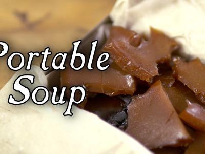 Easiest Way to Make Portable Soup