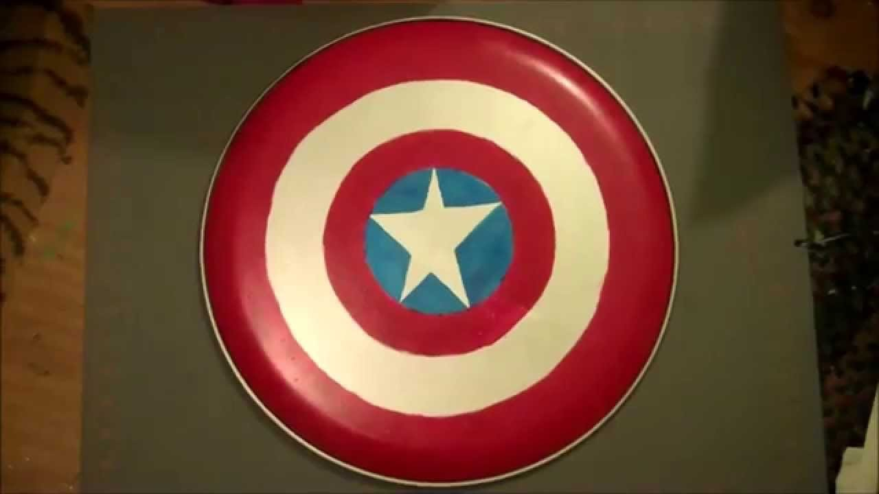 Easy DIY Captain America Shield