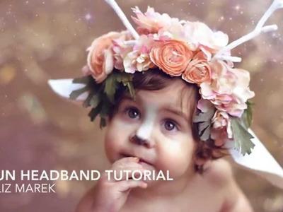 Faun Headband Tutorial