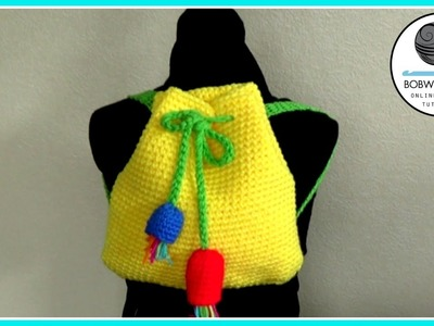 Gumnut Backpack Crochet Tutorial