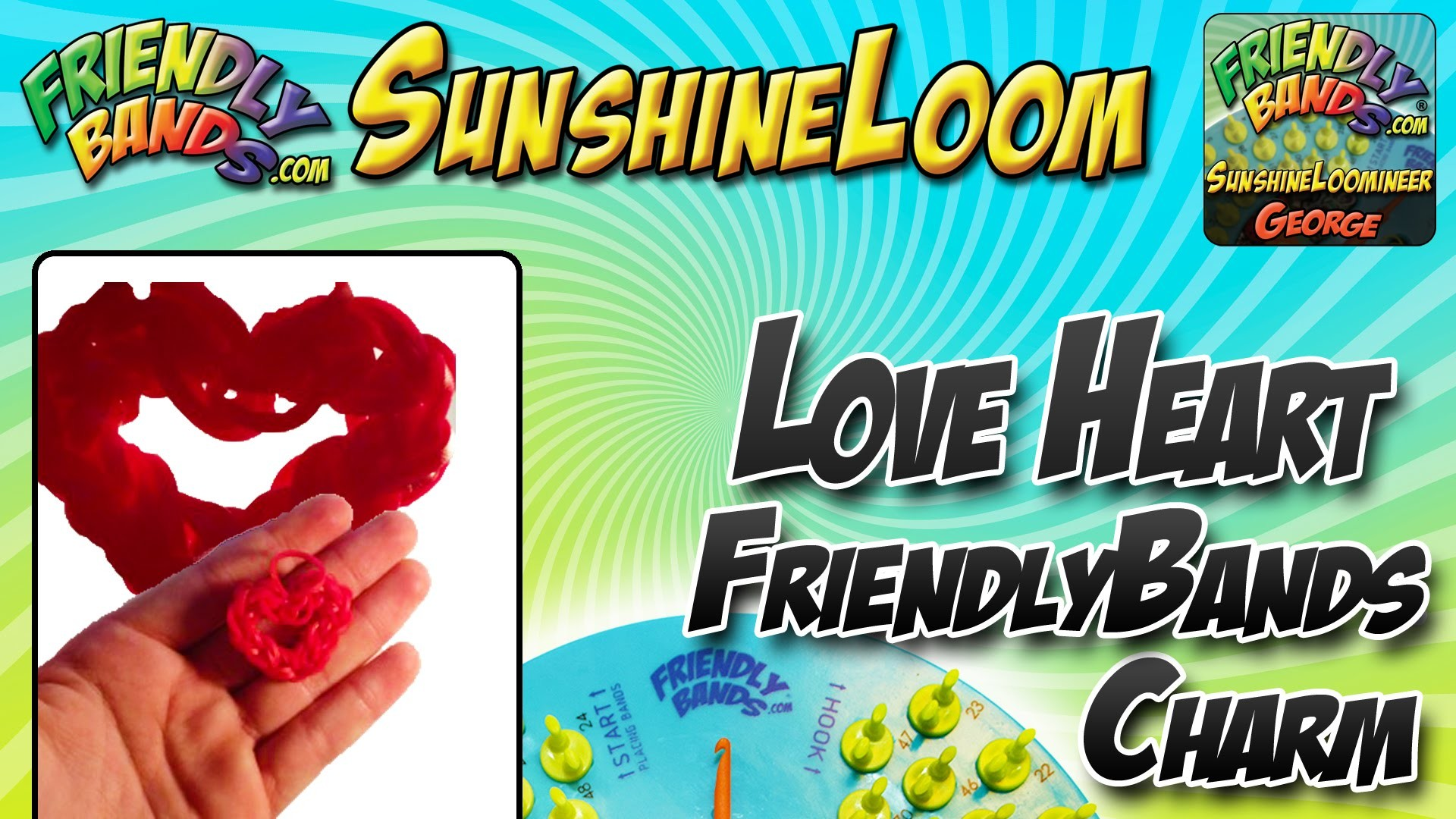 Heart Tutorial | Sunshine Loom