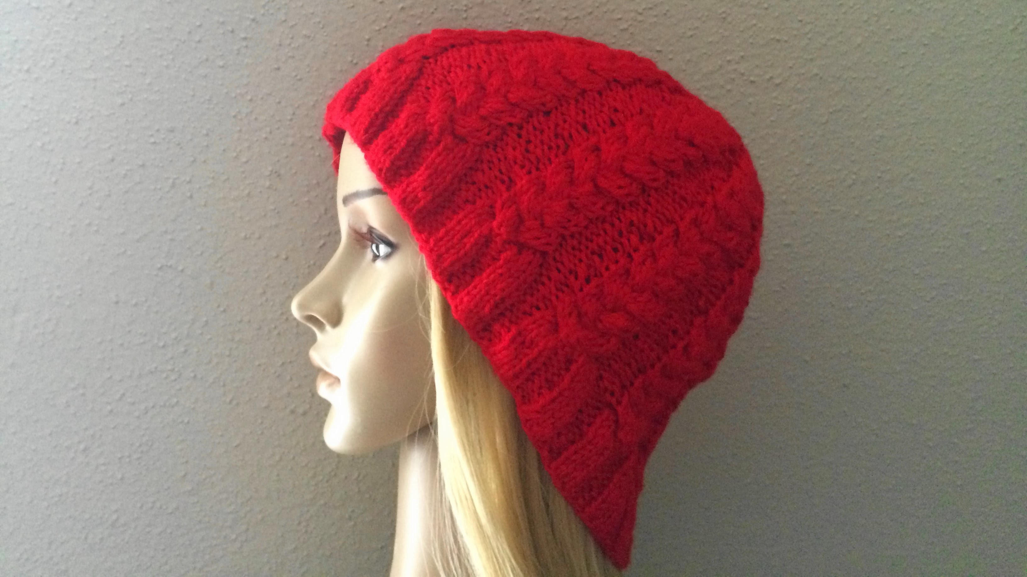 How To Knit A Braided Hat, Lilu's Knitting Corner Video # 16