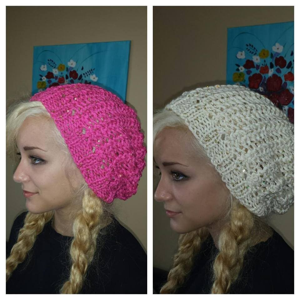 How To Knit a Hat Easy And Fast To Make.