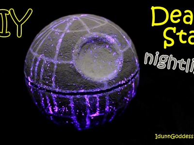 How To Make a Death Star Nightlight – DIY Star Wars Death Star Night Light Tutorial