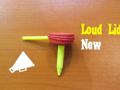 How to Make a Loud Lid - Easy Tutorials