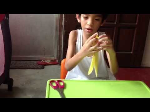 How to make an origami water balloon