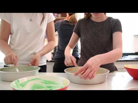 How To Make Rainbow Cake (From Scratch)