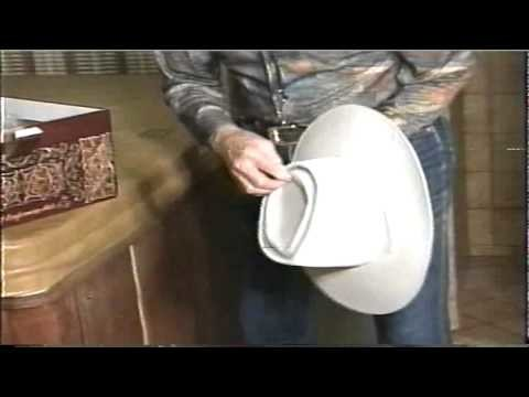 NEVER SEEN RARE Video Roy Rogers Showing how to Block Hat with Dusty Filming