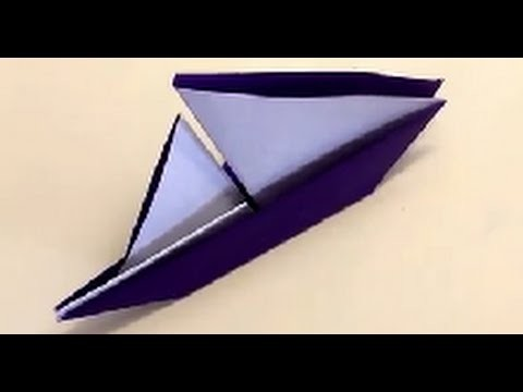 Origami for Beginners Sailboat