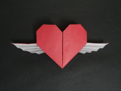 Origami Heart Tutorial - How to fold Origami Winged Heart