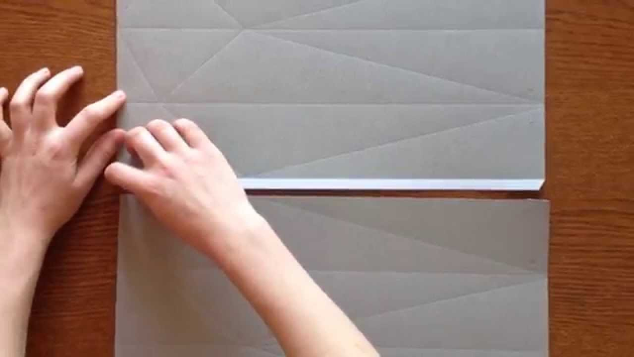 Origami Light Made by You - joining two papers for Blossom Light