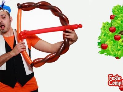 Palloncini Modellabili Arco e Freccia - Balloon Bow - Tutorial 61 - Feste Compleanni